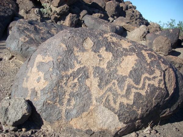 Painted Rock Petroglyph Site Arizona Ruins & Petroglyphs