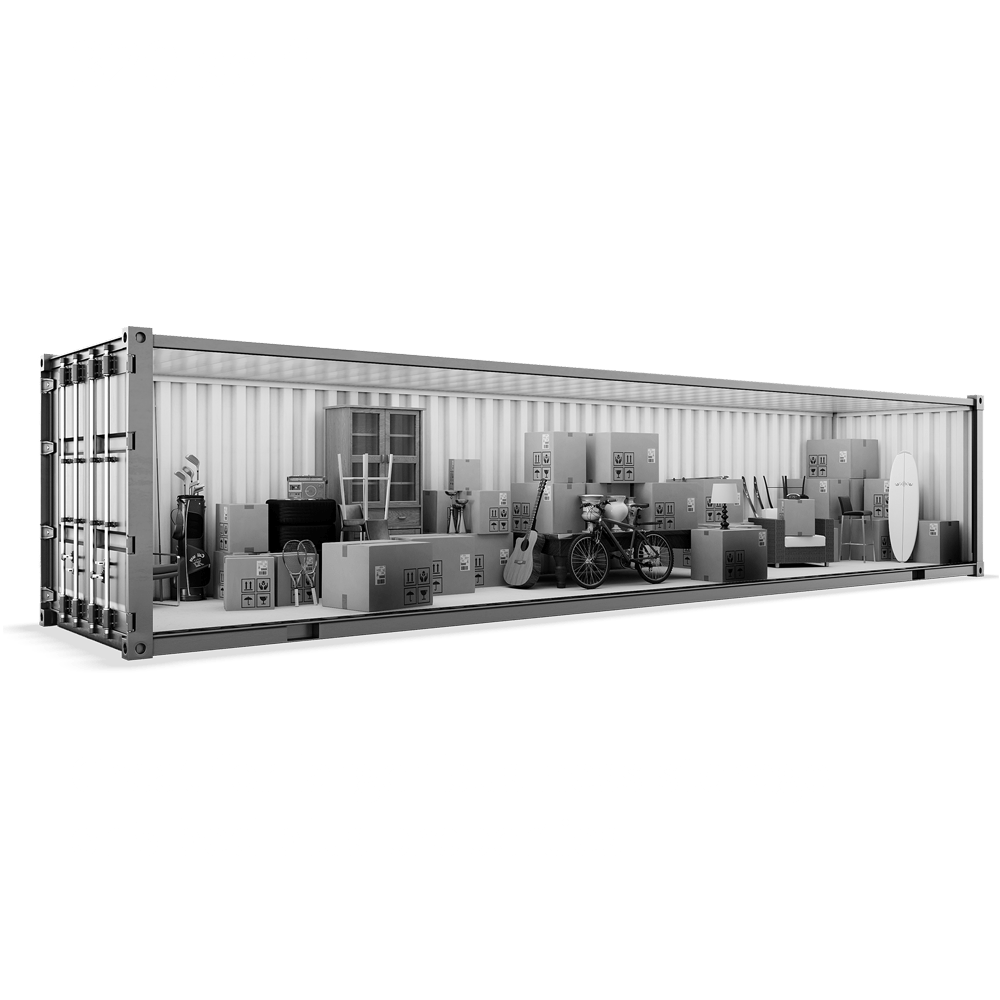 320 ft Self Storage Container