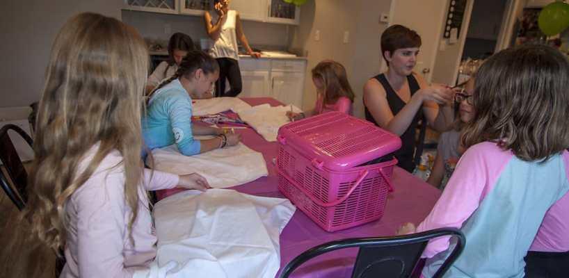 AZ Sleepy Teepee The Ultimate Sleepover Phoenix Kids Birthday Parties and Entertainment Scottsdale (109)