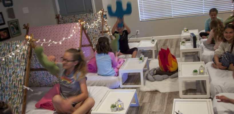 AZ Sleepy Teepee The Ultimate Sleepover Phoenix Kids Birthday Parties and Entertainment Scottsdale (84)