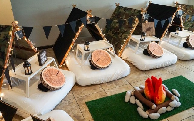 Teepee Party, Glamping sleepovers party, scottsdale party ideas (6)
