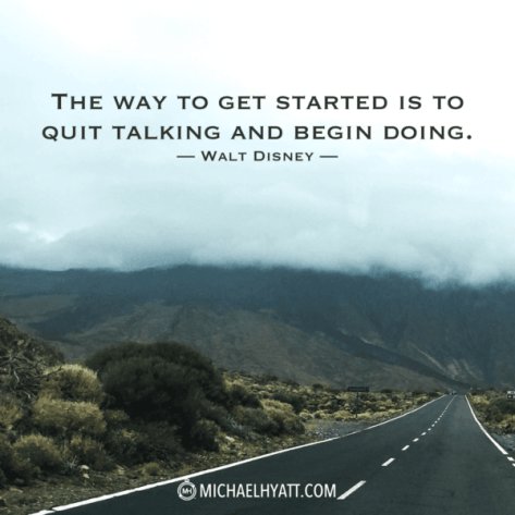 The way to get started...