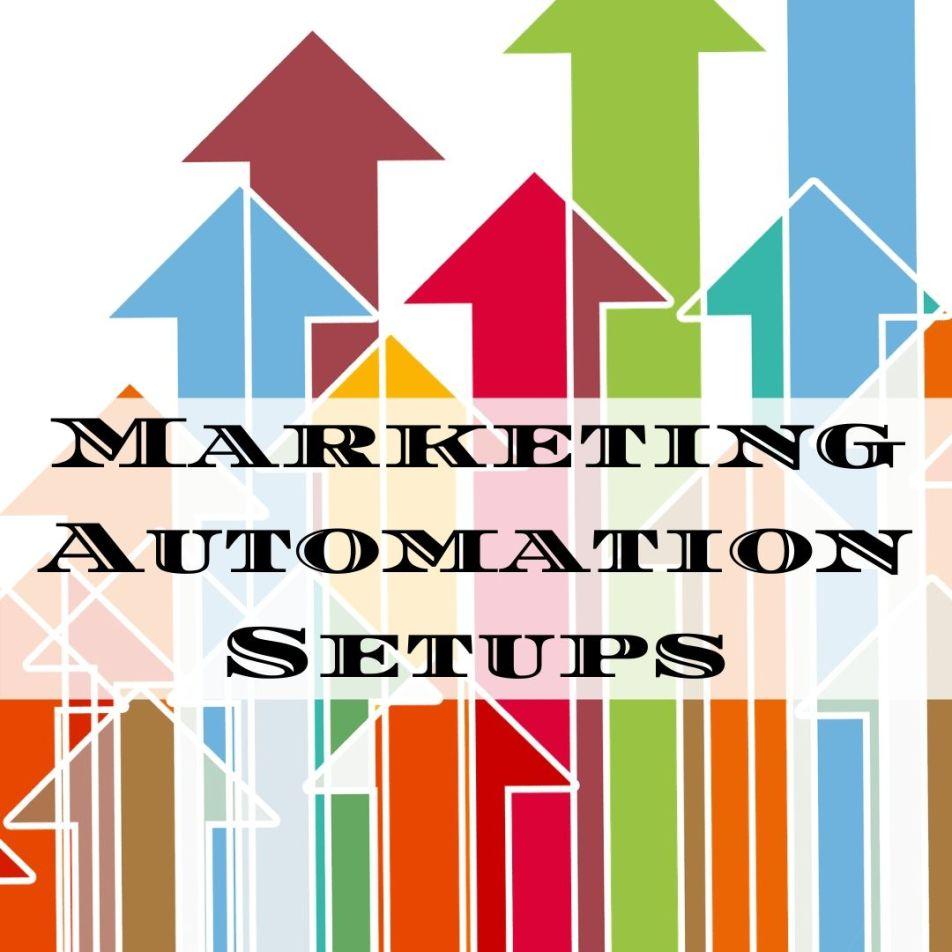 Marketing Automation Setups - email marketing, lead generation