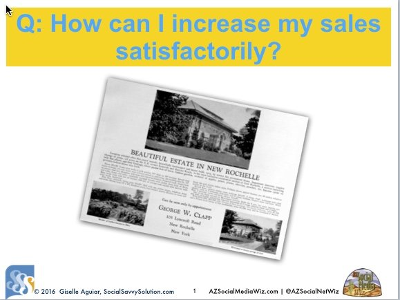 Q&A Video Realtor: How Do I Increase My Sales?