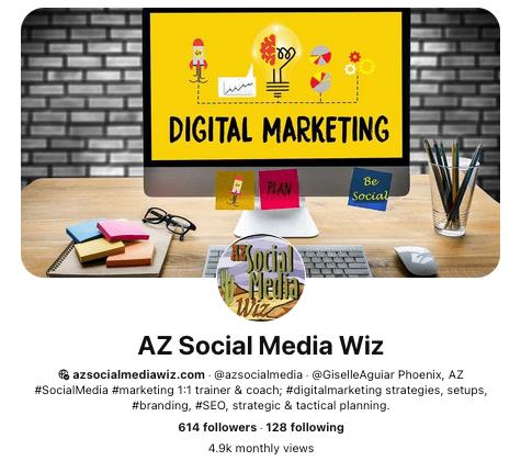 AZ Social Media Wiz on Pinterest