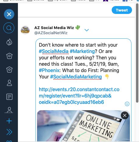 TweetDeck updated features