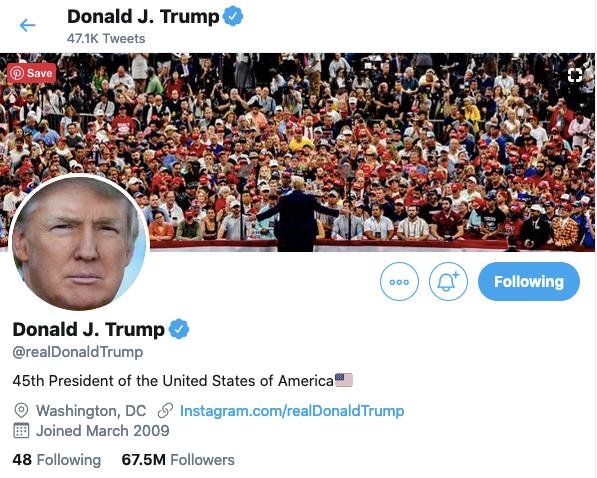 President Trump's Twitter