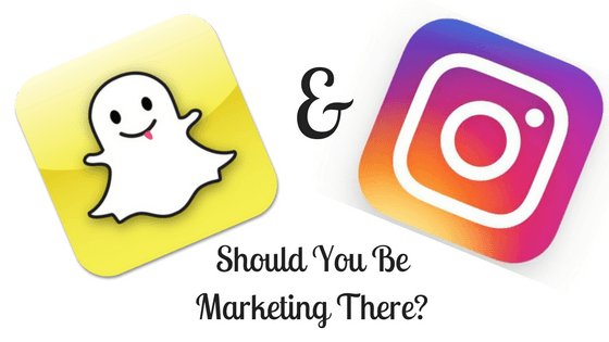 Snapchat & Instagram: Should you be marketing there?