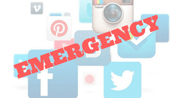 What is a Social Media Emergency? (And What to Do About it!)