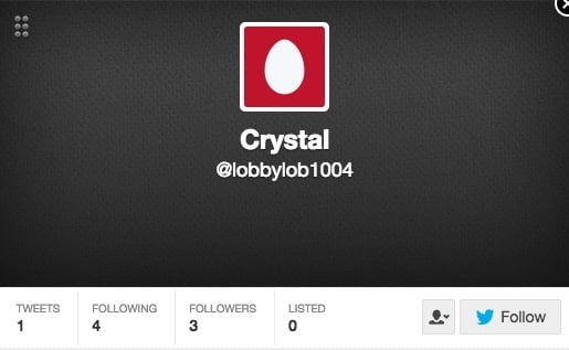 This looks like a Twitter fake account.