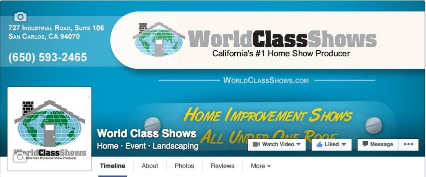 World Class Shows Facebook Page
