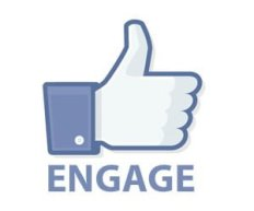 Engaging people on social media takes time.