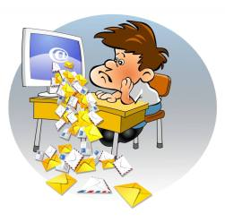 too much emailing is too much