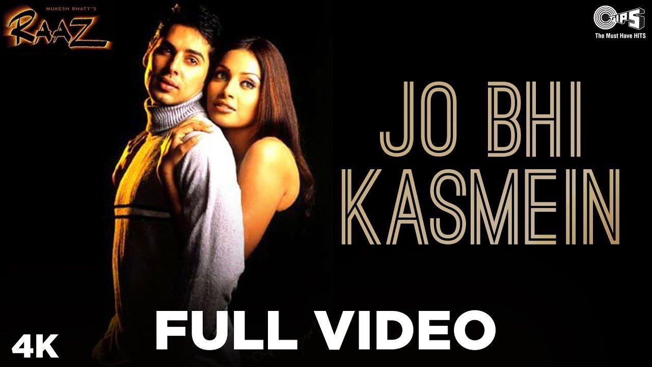 Jo Bhi Kasme Khai Thi Humne lyrics by Udit Narayan and Alka Yagnik. Jo bhi Kasme Khai Thi Humne is a Hindi song from the Hindi movie Raaz (2002) starring Dino Morea and Bipasha Basu. This song is sung by Udit Narayan and Alka Yagnik and this song is also searched as kya tumhe yaad hai lyrics.
