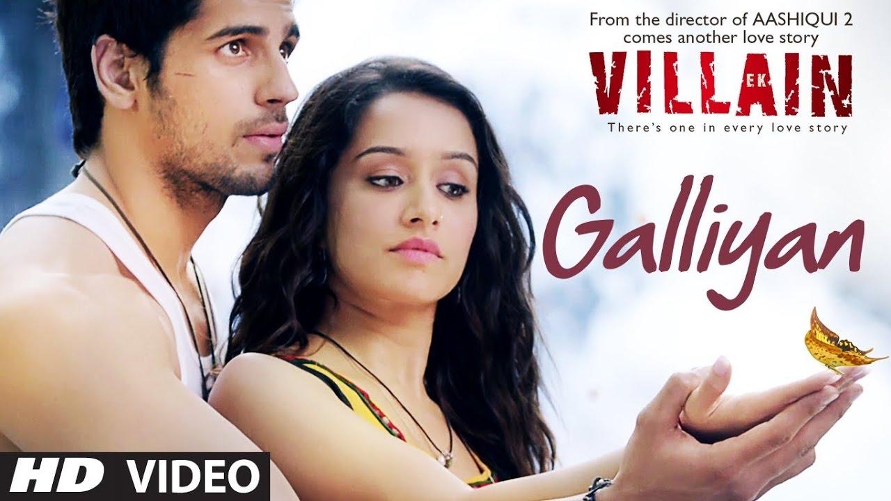 Teri Galliyan lyrics in Hindi and Teri Galliyan lyrics in English. Teri Galliyan is a song from the Hindi movie Ek Villain (2014) starring Sidharth Malhotra, Shraddha Kapoor and Riteish Deshmukh. This song is sung by Ankit Tiwari. This song is also searched as Teri Galliyan Lyrics Ankit Tiwari and Teri Galliyan song lyrics.