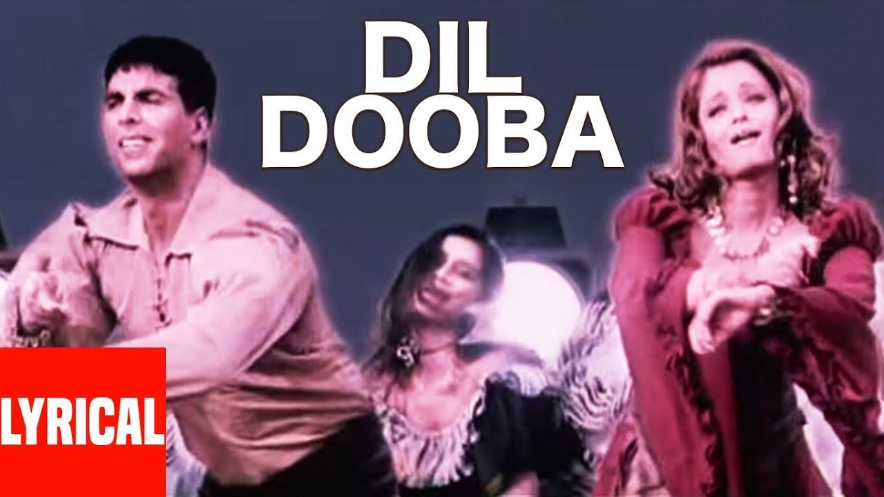 Dil Dooba Lyrics in Hindi and English - Sonu Nigam, Shreya Ghoshal, Khakee (2004)