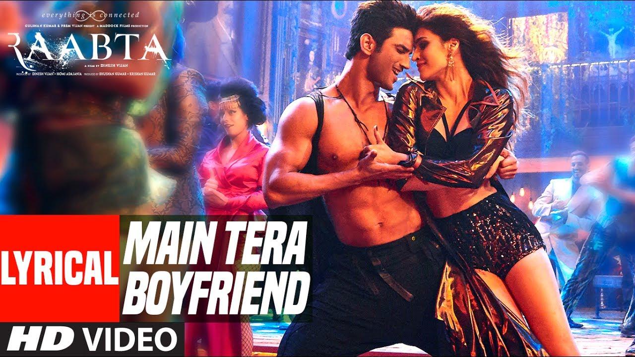 Main Tera Boyfriend Lyrics in Hindi and English - Arijit Singh, Neha Kakkar, Raabta (2017)