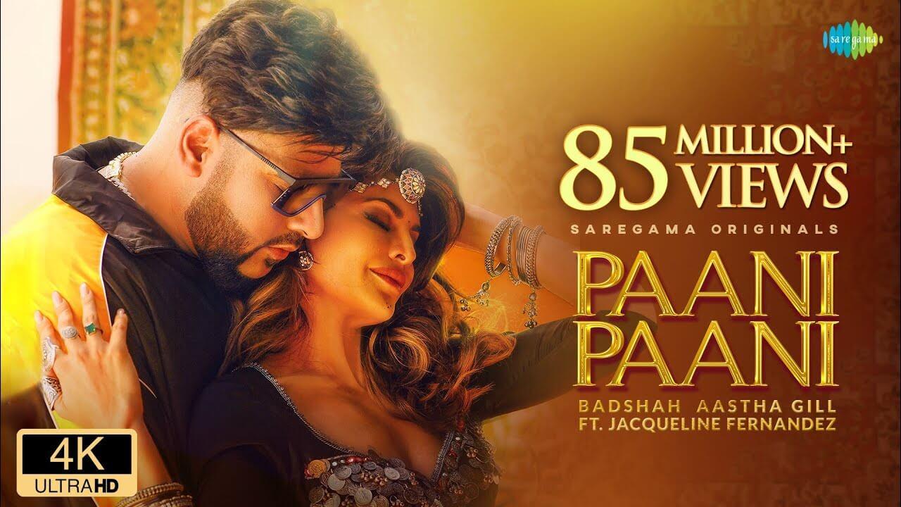 पानी पानी Paani Paani Lyrics in Hindi and English - Badshah, Jacqueline Fernandez, Hindi Song 2021
