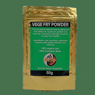 Smick Aqua Supplies Veg Fry Powder 50g