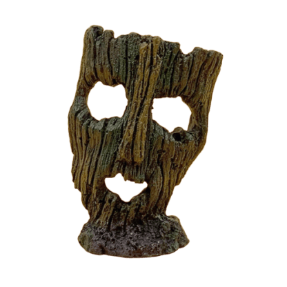 Ruined Mask Resin Ornament