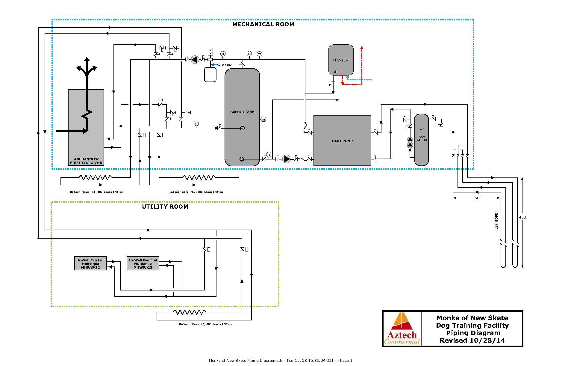 trane water source heat pump wiring diagram kubota bx2200 piping