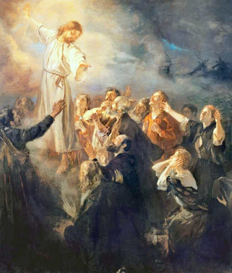 The Ascension of Christ by Fritz von Uhde