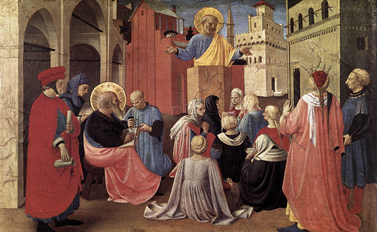 St. Peter Preaching