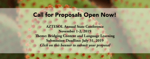 Call for Proposals Banner