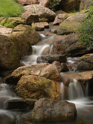 Building streams in any waterfalls giving it a natural look, Highland NY