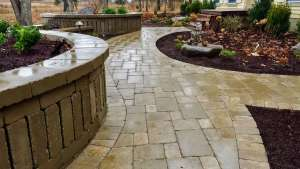 Front Walkway Unilock Brussels Pavers in New Paltz NY