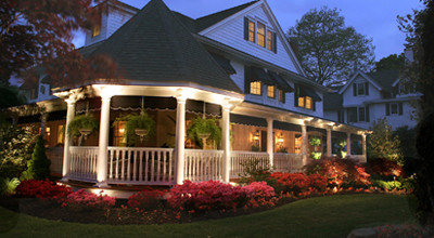 LED lighting for landscape and house in Poughkeepsie, NY