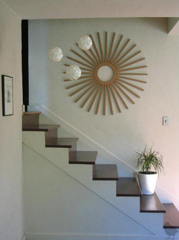 cuadros subida escalera  Decorar tu casa es facilisimocom