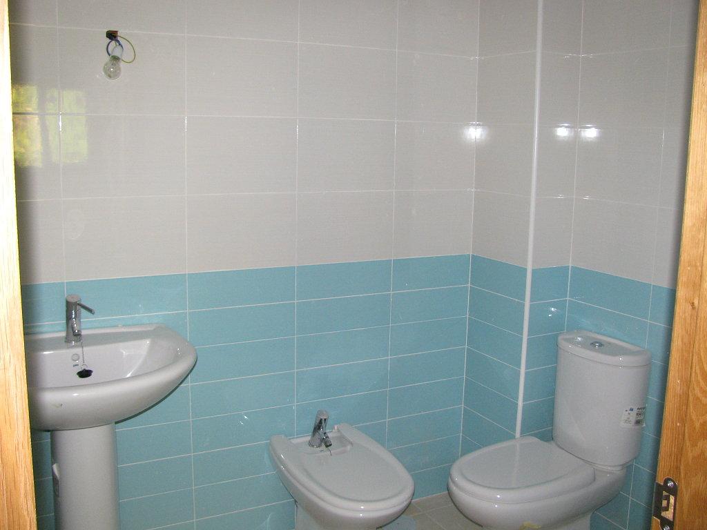 cuartos bano solo pared azulejos  Decorar tu casa es