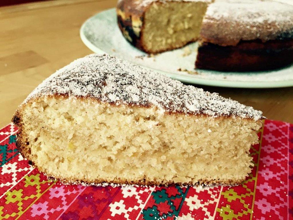Queque econmico en Sartn un queque esponjoso y delicioso y que no necesita horno   Cocina