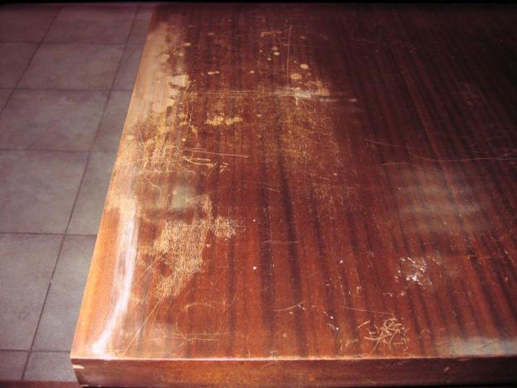 Trucos caseros para borrar araazos de la madera  Bricolaje