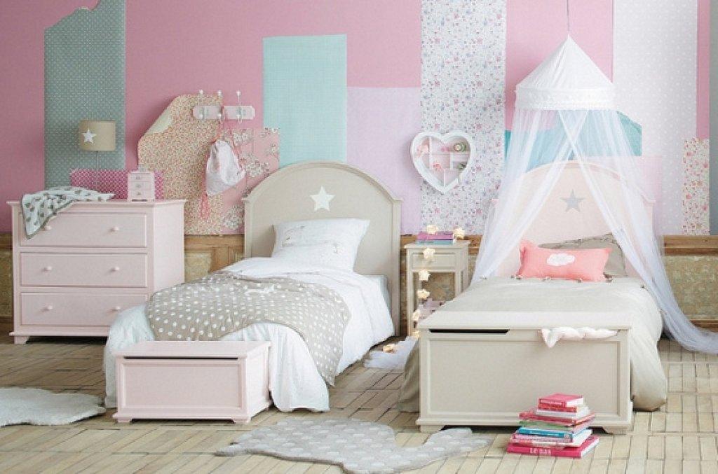 Ideas para decorar la pared de las habitaciones infantiles