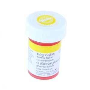 COLORANTE GEL AMARILLO LIMON WILTON