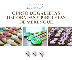 Curso de galletas decoradas y piruletas de merengue
