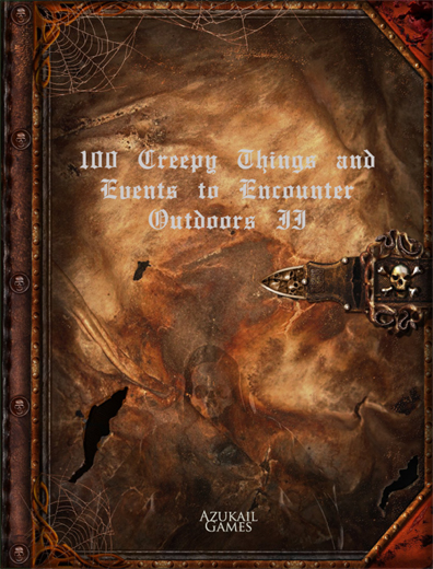 100 Creepy Things and Events to Encounter Outdoors II