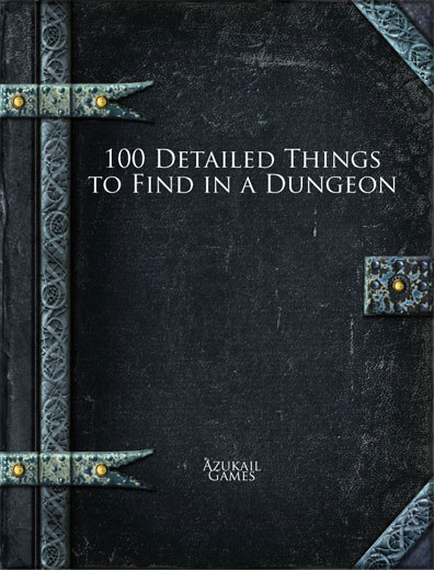 100 Detailed Things to Find in a Dungeon