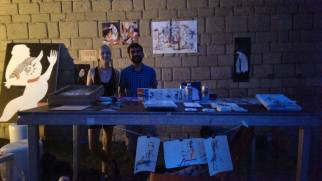 Open Studio day at Sonar OFF Festival Barcelona