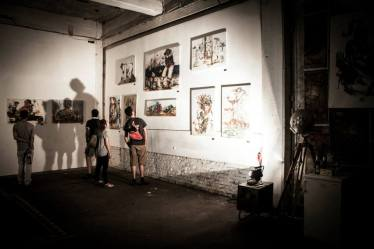 Exhibition Photo from Urban Art Clash Gallery Mitte : YAAM Berlin III