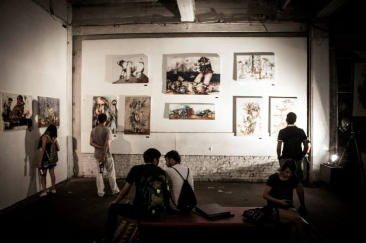 Exhibition Photo from Urban Art Clash Gallery Mitte : YAAM Berlin VII