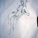 Figure Study 1 - Crayon (2 Min)