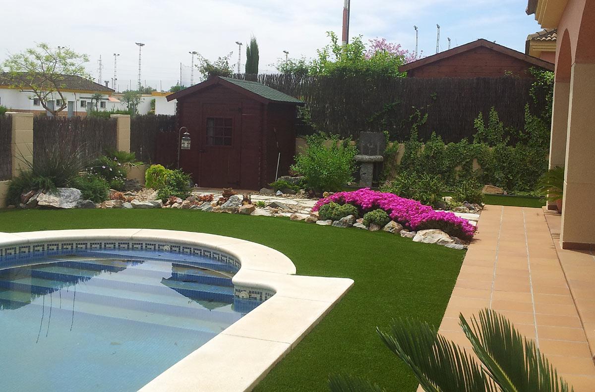 Jardines De Diseo Best Casa Patio Estanque Y Pequeas