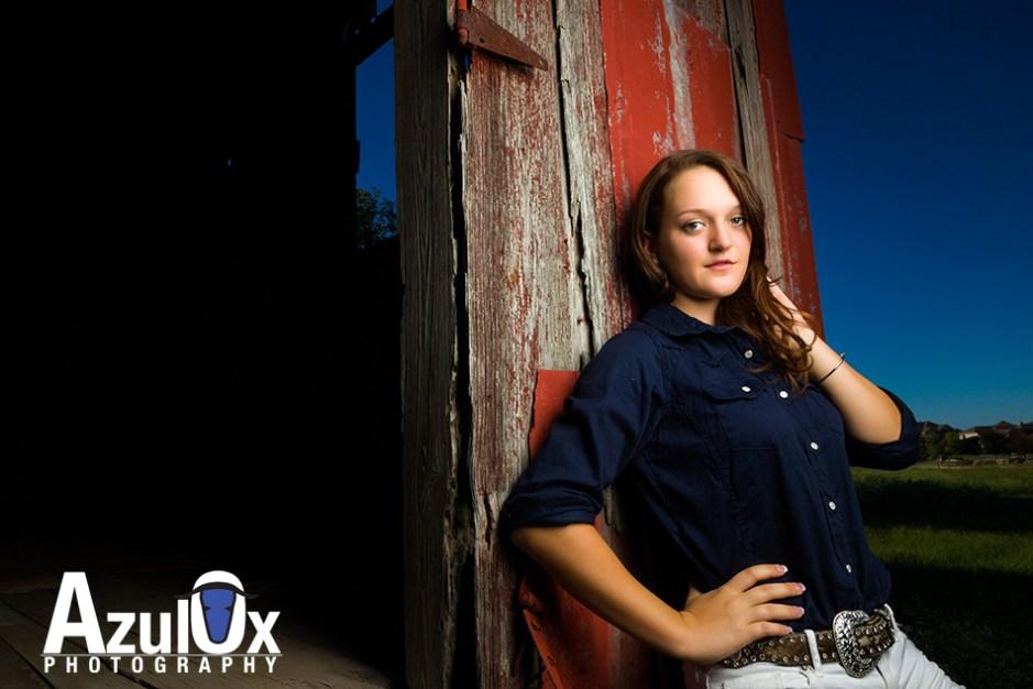 Steffi's Senior Portraits: Red Barn & Waterfalls