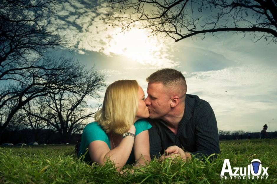 Jonnie & Jim: Engagement Photos in Zilker Park