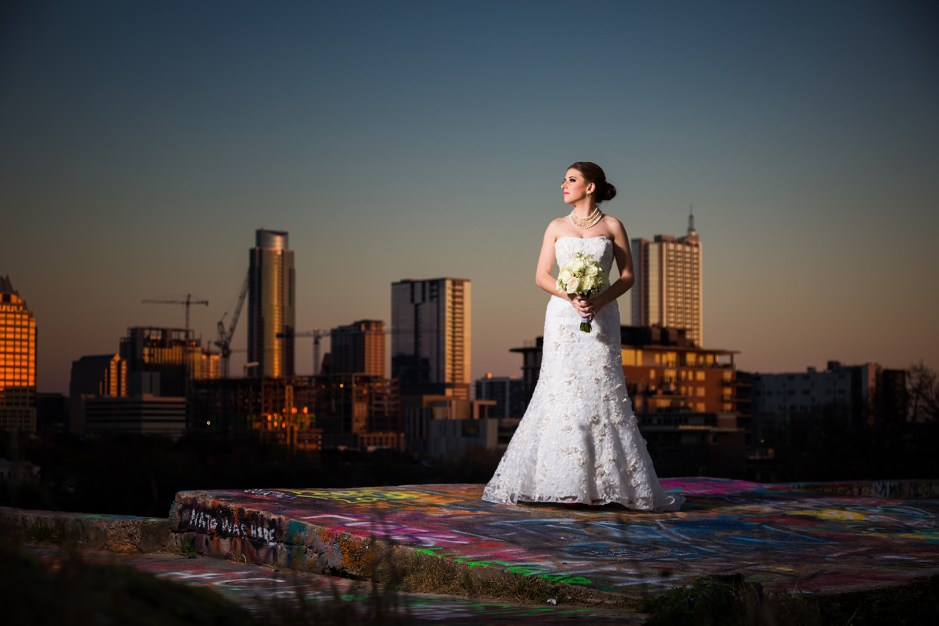 Ivy: Bridal Portraits in Austin