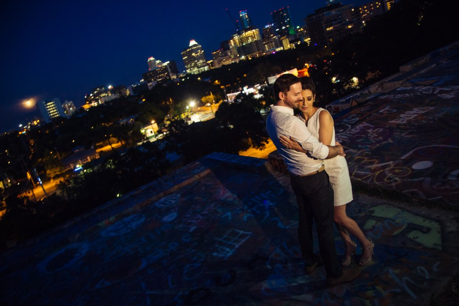 Veronica & Graham: Austin Clarksville Engagement Portraits