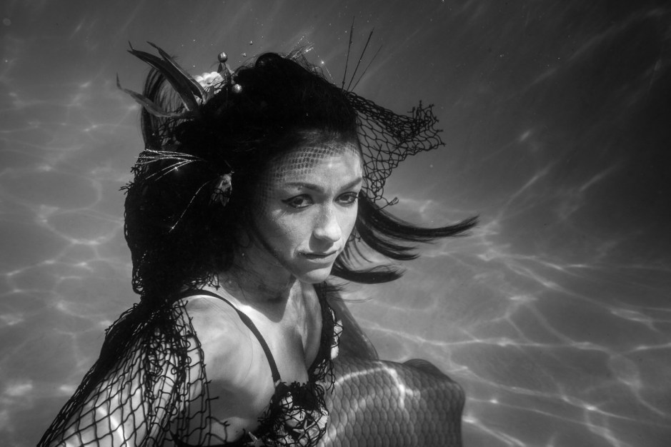 October Mermaids: Underwater Series in Austin